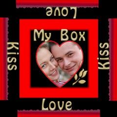 My Little Red Storage Box By Deborah   Storage Stool 12    Aw5i2x8774bf   Www Artscow Com Top