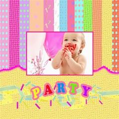 Girls First Birthday Storage Stool By Danielle Christiansen   Storage Stool 12    J7oil30c9scf   Www Artscow Com Right