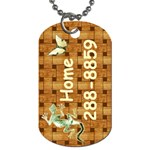 My # ... Kenneth #1 - Dog Tag (Two Sides)