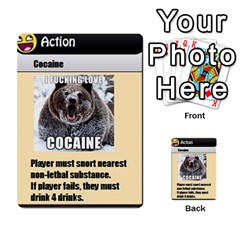 4chan By Adam   Multi Purpose Cards (rectangle)   J2yd4rucy3mg   Www Artscow Com Front 41