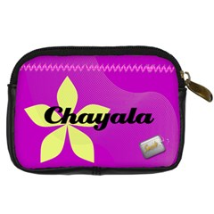 Chaya By Gitty Fisher   Digital Camera Leather Case   7dnbpy9xyg3c   Www Artscow Com Back