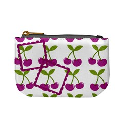 Cherry Mini Coin Purse 02 By Carol   Mini Coin Purse   9p6h9iatd452   Www Artscow Com Front
