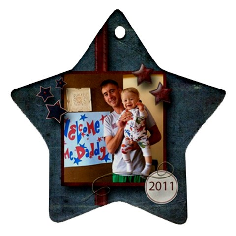 By Sheryl Watkins   Ornament (star)   45tnoigds0a5   Www Artscow Com Front