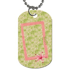 Katie Dog Tag (2 Sides) By Mikki   Dog Tag (two Sides)   Zbak4992jqx5   Www Artscow Com Front
