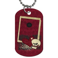 Pirate  Dog Tag (2 Sides) With Eyepatch By Mikki   Dog Tag (two Sides)   T898371tcp6f   Www Artscow Com Back