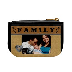 My Family Mini Coin Purse By Lil    Mini Coin Purse   6raonr8akhm8   Www Artscow Com Back