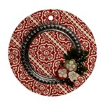 So Blessed-round ornament (2 sides) - Round Ornament (Two Sides)