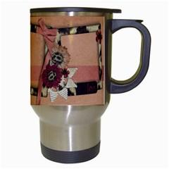 My Heart Animal Print Frames Travel Mug By Mikki   Travel Mug (white)   A2ud3qhcu2ox   Www Artscow Com Right