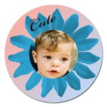 Cute as a Daisy 2 magnet - Magnet 5  (Round)