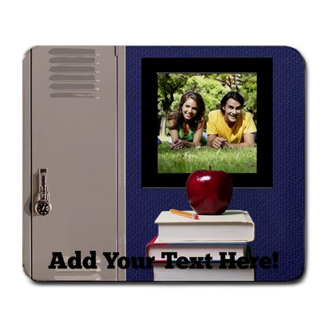 School Lockers Photo Mousepad By Angela   Large Mousepad   7qh4mxswgtxy   Www Artscow Com Front