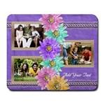 Purple Daisies Photo Mousepad - Large Mousepad