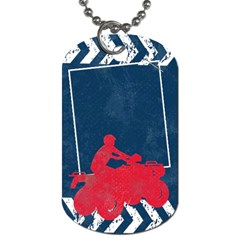 Atv/extreme Sports Dog Tag By Mikki   Dog Tag (two Sides)   5i7vzhq22a9h   Www Artscow Com Front