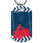 ATV/extreme sports-dog tag - Dog Tag (Two Sides)