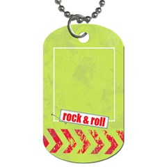 Atv/extreme Sports Dog Tag By Mikki   Dog Tag (two Sides)   5i7vzhq22a9h   Www Artscow Com Back