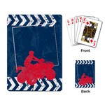 ATV/extreme sports- playing cards - Playing Cards Single Design