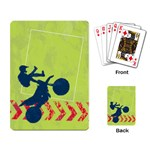 Motorcycle/Dirt Bike/extreme sports-playing cards - Playing Cards Single Design