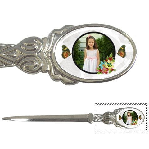 Butterfly Letter Opener By Kim Blair   Letter Opener   G0ivzs2j4oi7   Www Artscow Com Front