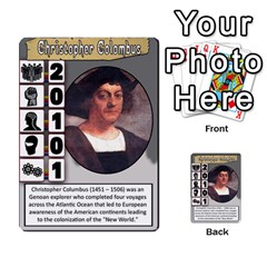 Mj   Deck 2 By Pierre   Multi Purpose Cards (rectangle)   Rmi43ggil3mx   Www Artscow Com Front 12