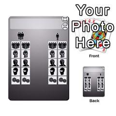 Mj   Deck 2 By Pierre   Multi Purpose Cards (rectangle)   Rmi43ggil3mx   Www Artscow Com Front 42