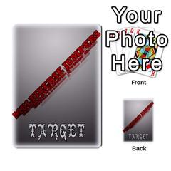 Mj   Deck 2 By Pierre   Multi Purpose Cards (rectangle)   Rmi43ggil3mx   Www Artscow Com Back 43
