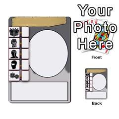 Mj   Deck 2 By Pierre   Multi Purpose Cards (rectangle)   Rmi43ggil3mx   Www Artscow Com Front 44