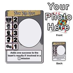 Mj   Deck 2 By Pierre   Multi Purpose Cards (rectangle)   Rmi43ggil3mx   Www Artscow Com Back 49