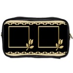 Black and Gold toiletries Bag - Toiletries Bag (One Side)