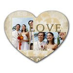 wedding - Heart Mousepad