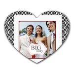 wedding - Heart Mousepad