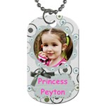 peyton - Dog Tag (One Side)
