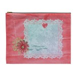 Floral Lace-cosmetic bag (XL)