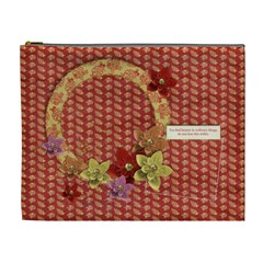 Beauty/heart/oriental Cosmetic Bag (xl) By Mikki   Cosmetic Bag (xl)   Hh5p7okargu0   Www Artscow Com Front
