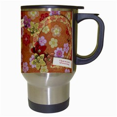 Beauty/friends/oriental Travel Mug By Mikki   Travel Mug (white)   8xczudgbnznf   Www Artscow Com Right