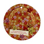 Friends/Beauty/oriental-round ornament (2 sides) - Round Ornament (Two Sides)