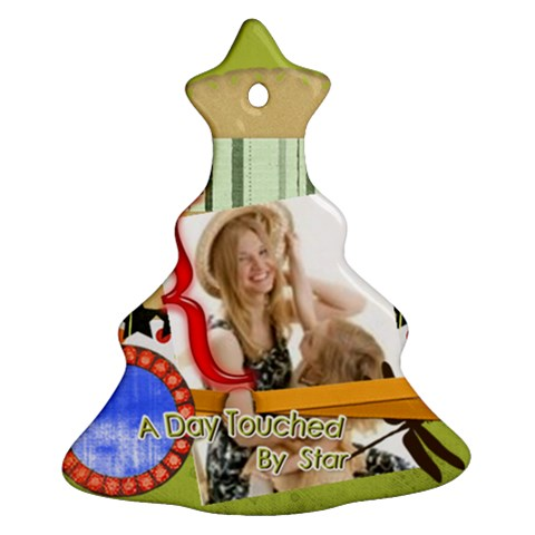 Xmas By Joely   Ornament (christmas Tree)    83cvnzz8kt9r   Www Artscow Com Front
