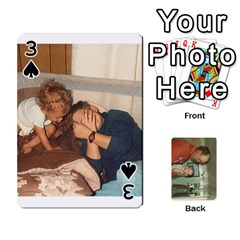 Family Cards By Ashley   Playing Cards 54 Designs   T9rhhe5bf9w5   Www Artscow Com Front - Spade3