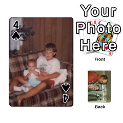 Family Cards By Ashley   Playing Cards 54 Designs   T9rhhe5bf9w5   Www Artscow Com Front - Spade4