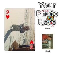 Family Cards By Ashley   Playing Cards 54 Designs   T9rhhe5bf9w5   Www Artscow Com Front - Heart9