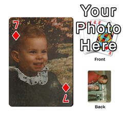 Family Cards By Ashley   Playing Cards 54 Designs   T9rhhe5bf9w5   Www Artscow Com Front - Diamond7