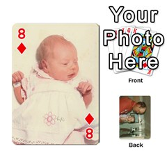 Family Cards By Ashley   Playing Cards 54 Designs   T9rhhe5bf9w5   Www Artscow Com Front - Diamond8