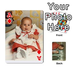 Ace Family Cards By Ashley   Playing Cards 54 Designs   T9rhhe5bf9w5   Www Artscow Com Front - DiamondA