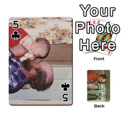 Family Cards By Ashley   Playing Cards 54 Designs   T9rhhe5bf9w5   Www Artscow Com Front - Club5