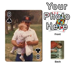 Family Cards By Ashley   Playing Cards 54 Designs   T9rhhe5bf9w5   Www Artscow Com Front - Club8