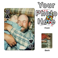 Family Cards By Ashley   Playing Cards 54 Designs   T9rhhe5bf9w5   Www Artscow Com Front - Club10