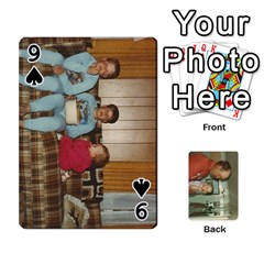 Family Cards By Ashley   Playing Cards 54 Designs   T9rhhe5bf9w5   Www Artscow Com Front - Spade9