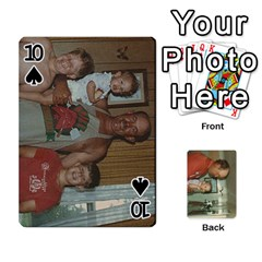 Family Cards By Ashley   Playing Cards 54 Designs   T9rhhe5bf9w5   Www Artscow Com Front - Spade10