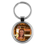 happy kids - Key Chain (Round)
