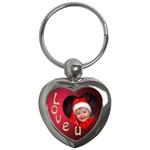 Love U Key Chain - Key Chain (Heart)