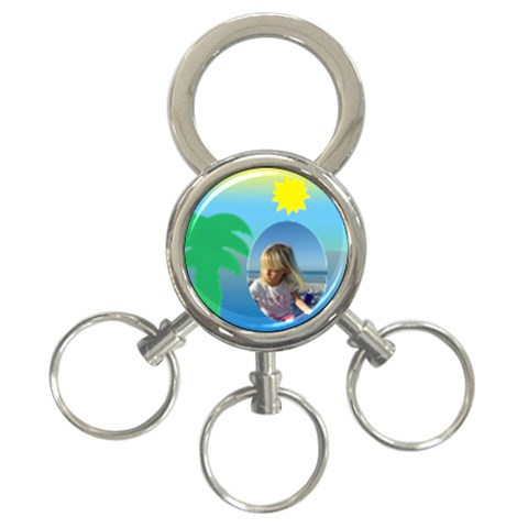 Holiday Key Chain By Deborah   3 Ring Key Chain   Boesv8cu6cmr   Www Artscow Com Front