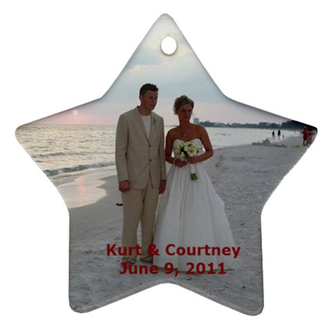 Kurt  By Rita   Ornament (star)   7cpyvblv6i6g   Www Artscow Com Front